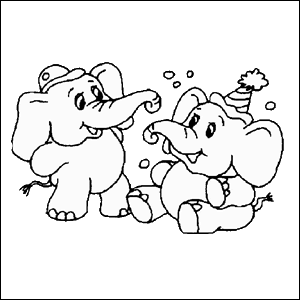 kleurplaat-olifant-171